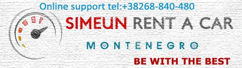 Car rentals Montenegro. Airport Tivat, Podgorica-Simeun